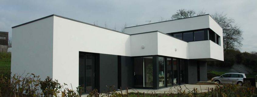 Maison contemporaine - Les Herbiers